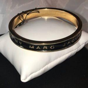 Blk/Gld M A R C by Marc Jacobs glazed bracelet
